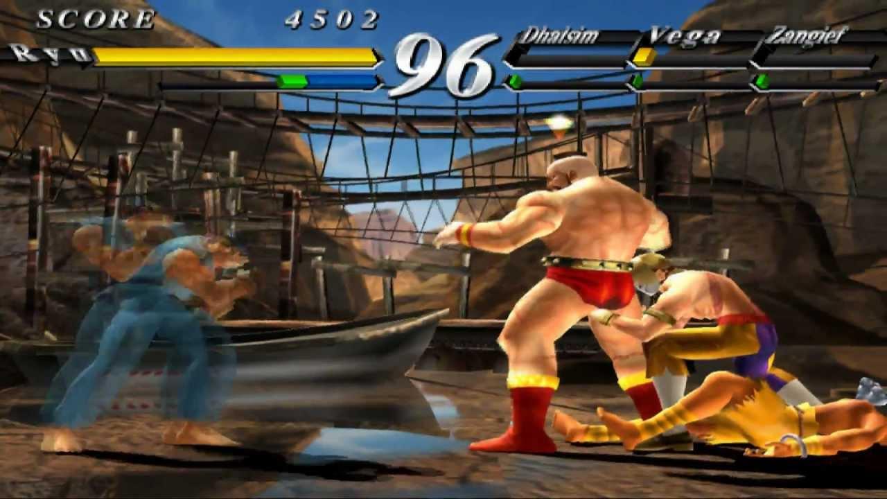 Street Fighter EX 3 1080p pcsx2 rev 5001