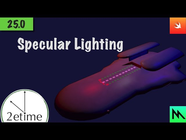 25: Phong Specular Shading | Swift Game Engine