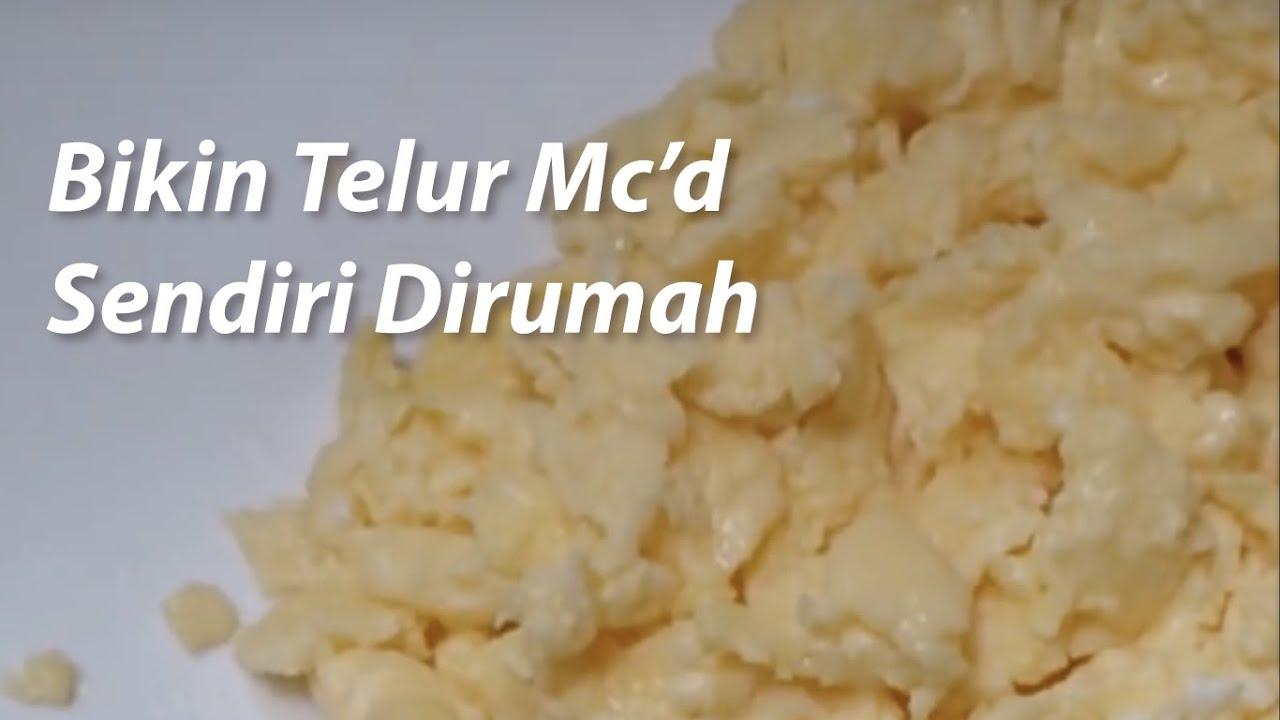 Cara membuat telur ala McDonald's (Mc'd) McD | Doovi