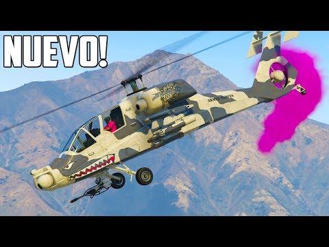 NUEVO HELICÓPTERO! FH-1 HUNTER ATTACK!! - GTA V ONLINE (GTA 5)
