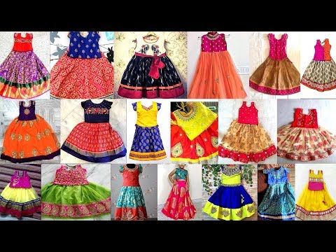 Latest Kids Skirt And Blouse Designs