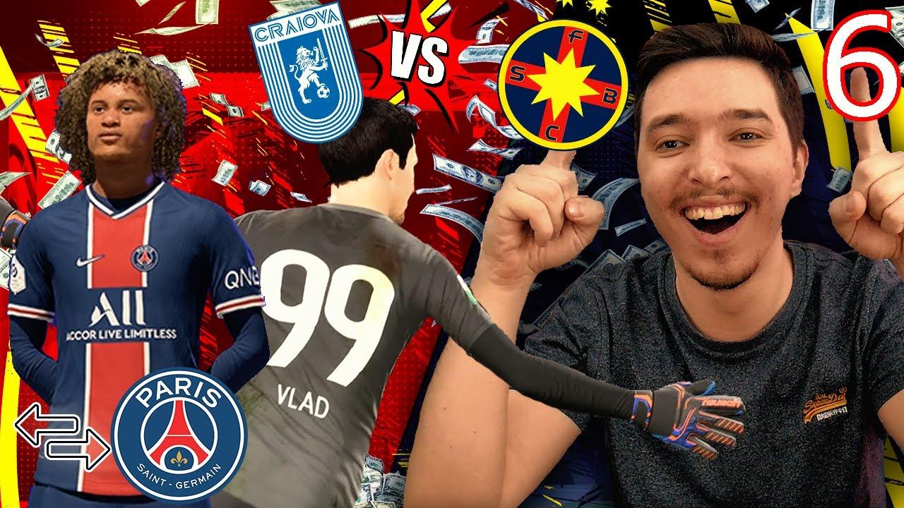 XAVI SIMONS TRANSFER DE LA PSG LA FCSB !!! MECI INCREDIBIL CU CRAIOVA IN CUPA !!! / FIFA 21 ROMANIA