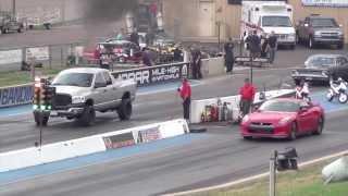 2012 Nissan GTR vs Dodge Ram Cummins
