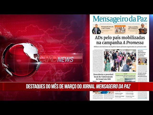 Boletim Semanal de Notícias - CPAD News 200