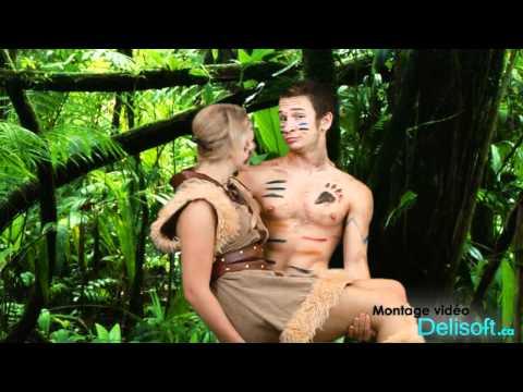 Tarzan and Jane Parody - Toy-Box