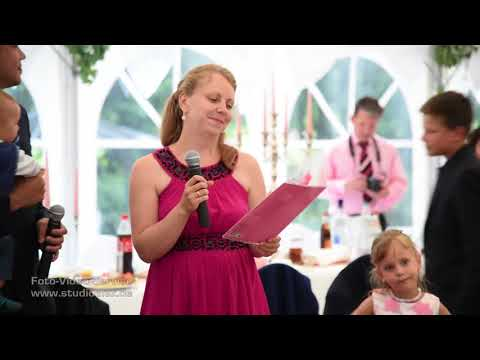 Самое трогательное Поздравление с песней на свадьбе