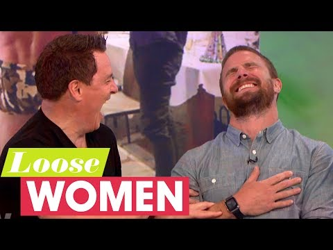 John Barrowman Teaches Stephen Amell What Budgie Smugglers Are!  Loose Women