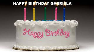 Gabriela - Cakes Pasteles_511 - Happy Birthday