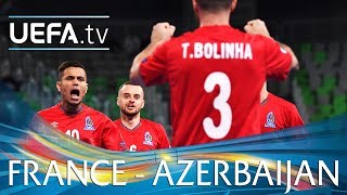 Futsal EURO highlights: France v Azerbaijan