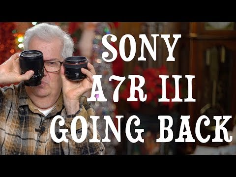 Sony A7R III Camera Is Going Back