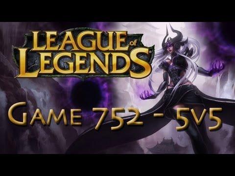LoL Game 752 - 5v5 - Syndra