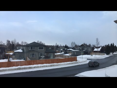 Snow in the forecast - Anchorage Alaska - April 4th 2018