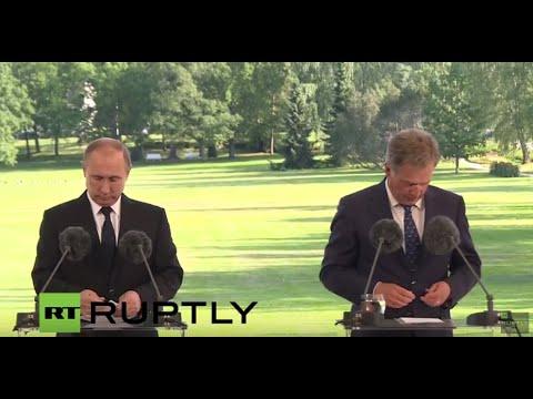 LIVE: Putin to meet Finnish president Niinisto in Kultaranta - press conference