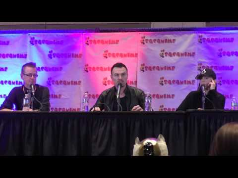 Paul Amos & Victoria Atkin at SacAnime  Full Friday Assassin's Creed Panel