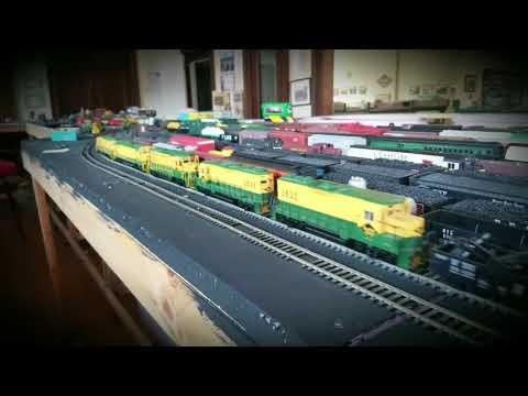 Tamaqua Anthracite Model Railroad Club Run-Through Freight