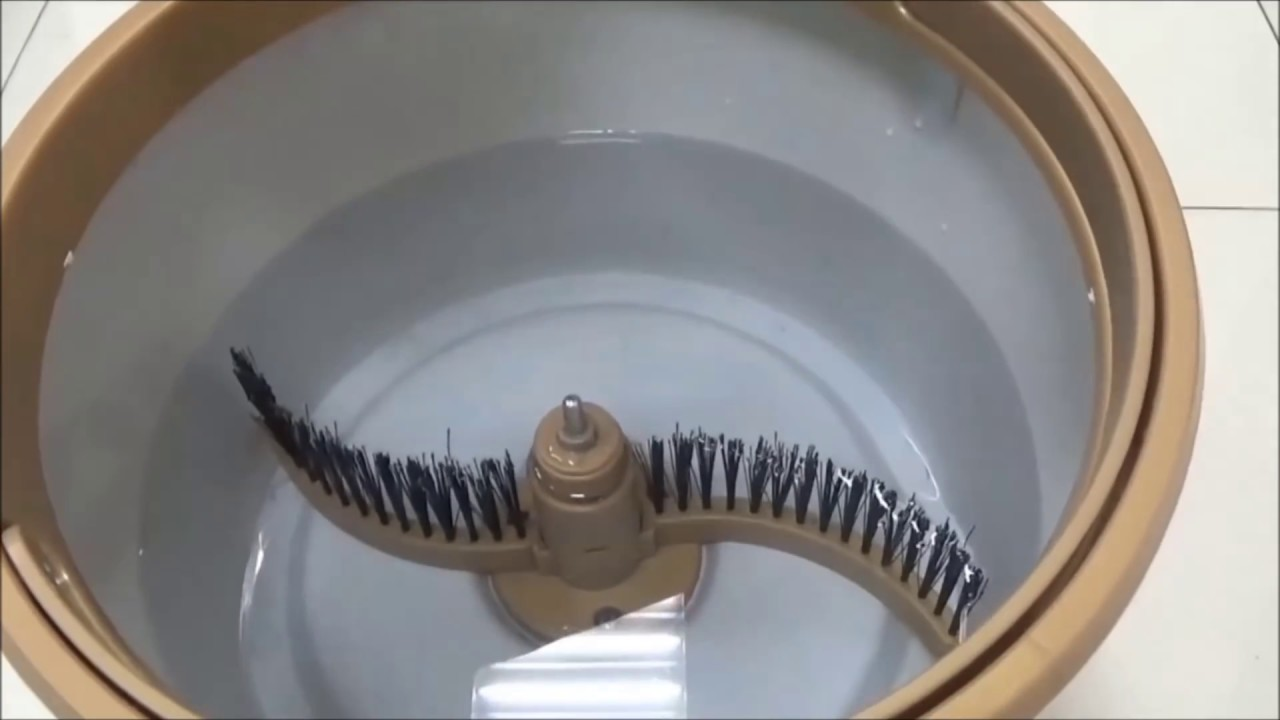好神拖 免手洗平板拖操作使用 - YouTube