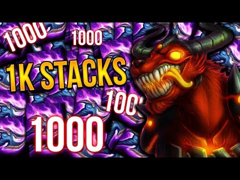 1000+ STACK CANE IS HUGE | STACKED YORICK & HIS KIDS  - Trick2G
