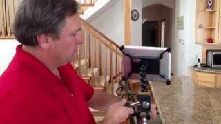 iPad Tripod Mount / Adapter by Caddie buddy