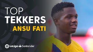 LaLiga Tekkers: Ansu Fati, el goleador más joven de la historia del FC Barcelona