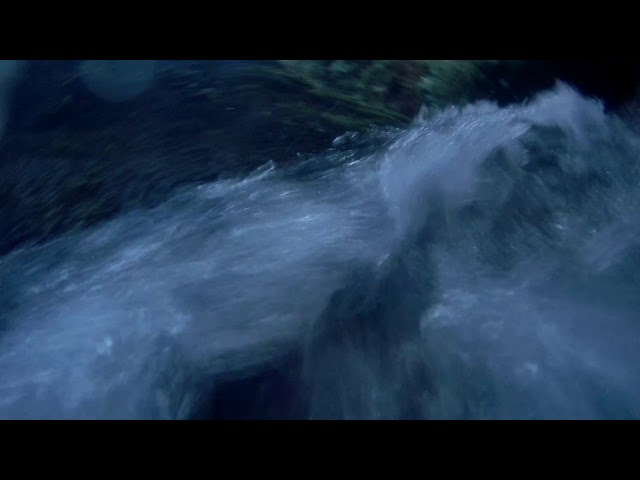 Wilton Lodge Park Dean Burn Waterfall Hawick - Underwater Camera 4K Quality - Clip 2