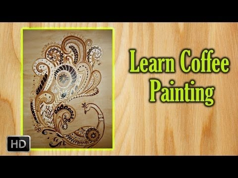 learn how to paint coffee painting beginners painting