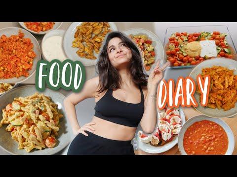 FOOD DIARY - Was wir in einer Woche abends essen!!