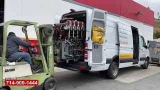 Sprinter Van Collision Repair   Fleet Van