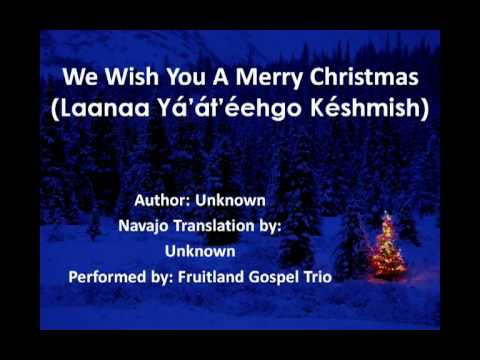 We Wish You A Merry Christmas Navajo Lyrics Youtube