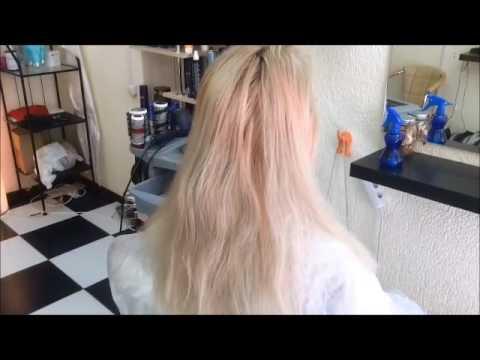 Окрашивание сухих поврежденных волос