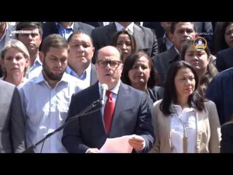 Mensaje de Julio Borges a la Fuerza Armada Nacional, llamado al golpe de Estado