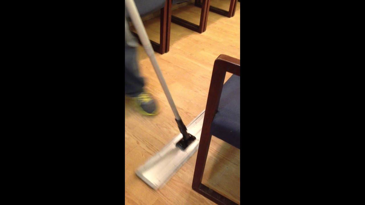 Laminate Floor Gum Removal Youtube