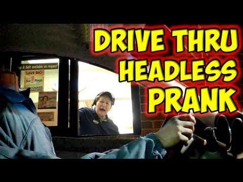 Ohne Kopf- Drive Through Prank