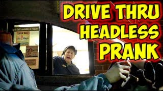 Drive Thru Headless Prank thumbnail