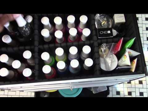Nail Technician Travel Case