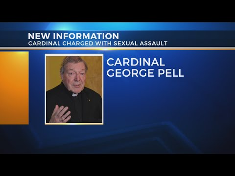 Vatican cardinal charged with sex crime