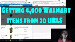 Bulk Theory Episode 48 - Converting 20 Walmart Search URLS into a text file of 4,000 Item URLS