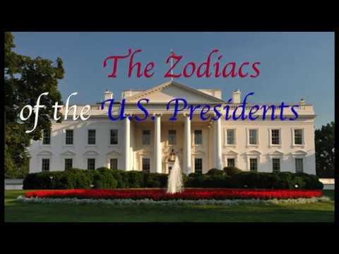 Zodiacs of the U S  Presidents