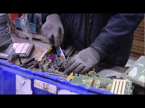 Electronics Recycling at AERC Recycling Solutions