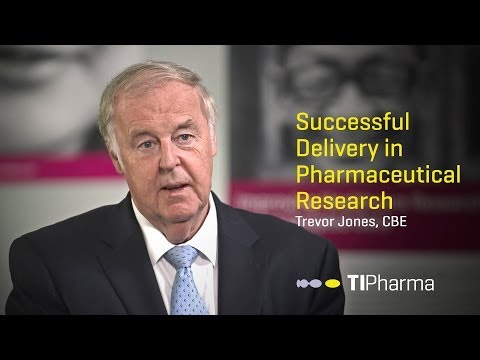 Successful Delivery in Pharmaceutical Research — Interview with Trevor Jones, CBE