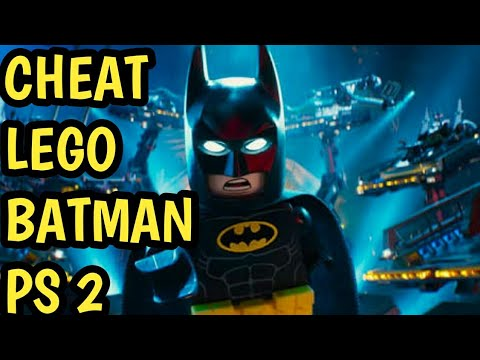 CHEAT LEGO BATMAN PS 2 - YouTube