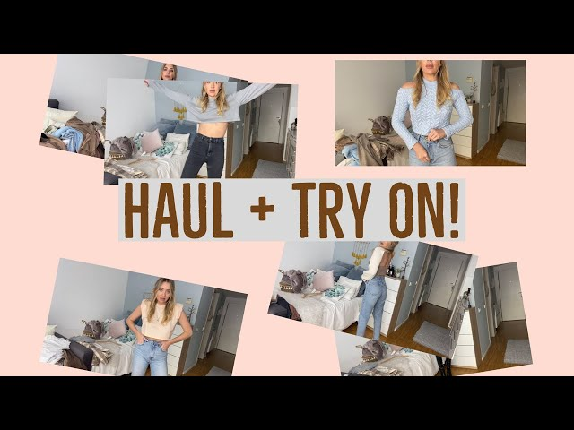 HAUL + TRY ON!!!