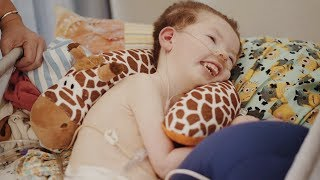 Three-Year-Old Boy Living with Menkes Disease