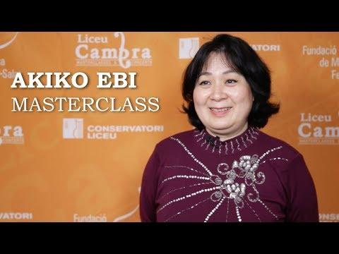 Masterclass de PIANO amb AKIKO EBI | #LiceuCambra