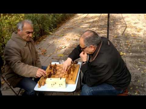 Игра в шахматы в Армении