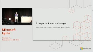 A deeper look at Azure Storage with a special focus on new capabilities - BRK2041