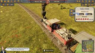 Railway Empire gameplay [HUN MAGYAR]