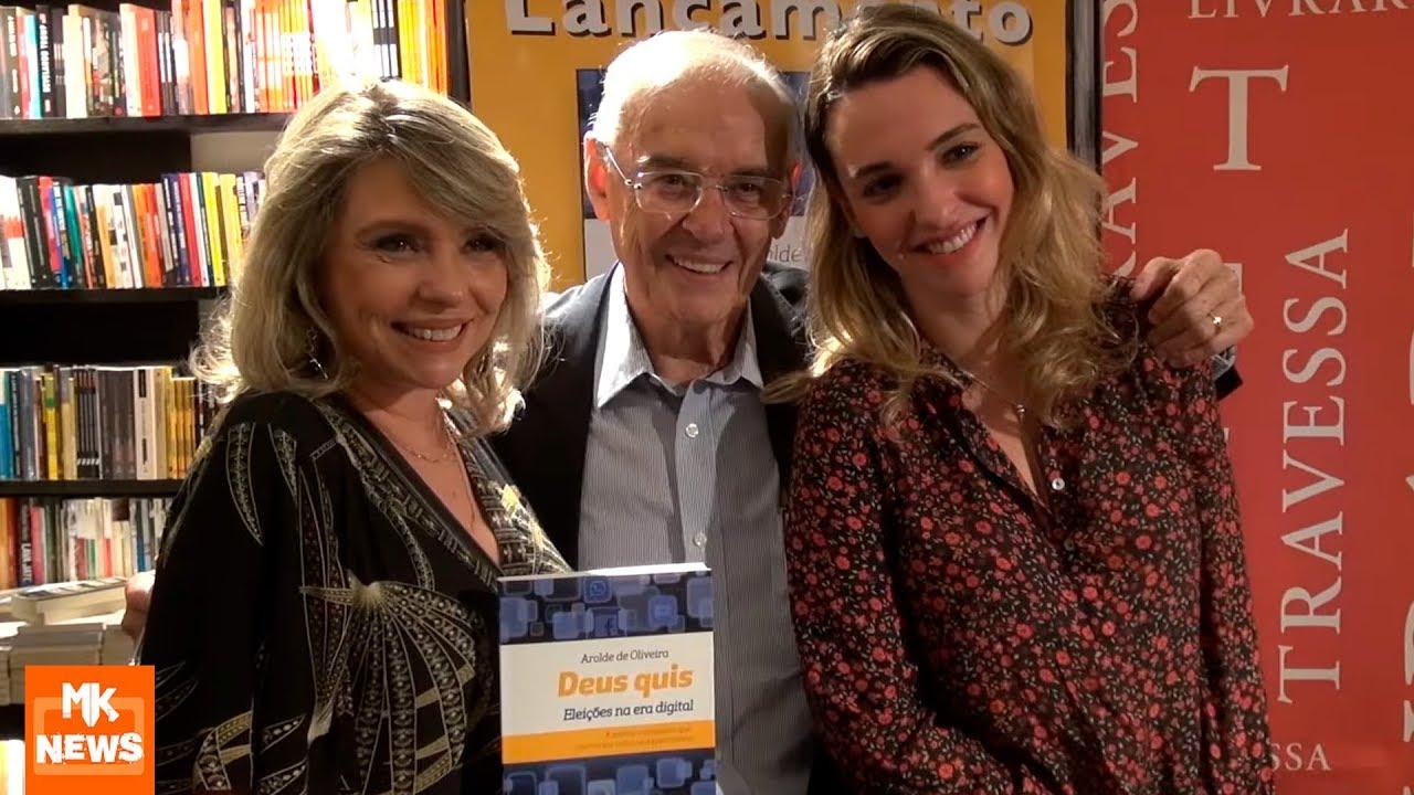 Senador Arolde de Oliveira - Lançamento do Livro