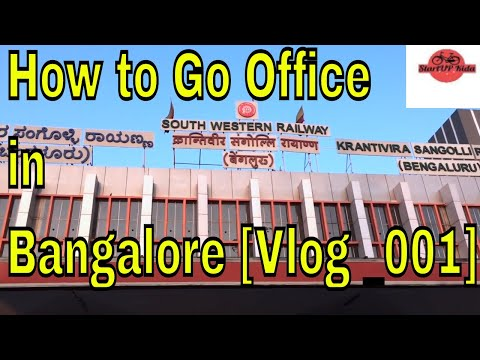 How To Travel In Metro Bangalore For Office   Baby Steps Of Vlogging 29JAN 2018