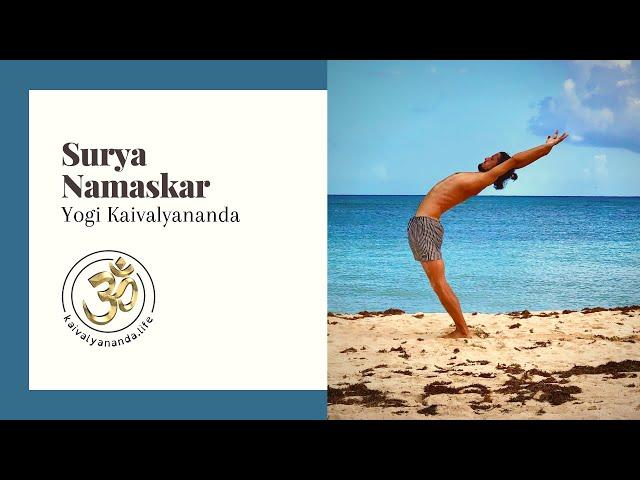 Surya Namaskar by Yogi Kaivalyananda in Mexico