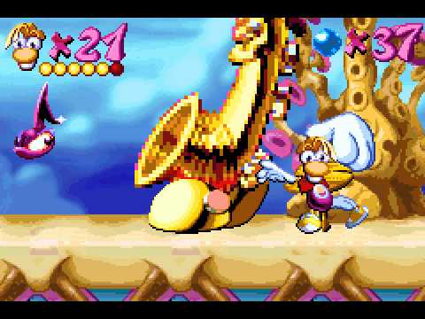 [TAS] GBA Rayman Advance by Got4n in 1:16:19.97